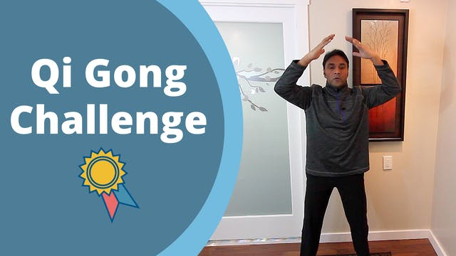 Jeff's Very First QiGong Challenge Vi...